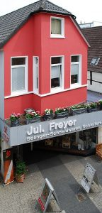 Impressum Schleiferei Jul. Freyer