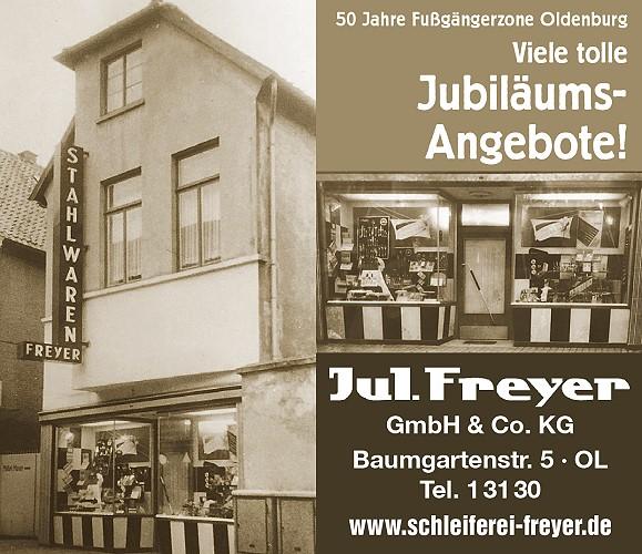 50 Jahre Fußgängerzone Oldenburg - viele tolle Jubiläumsangebote!